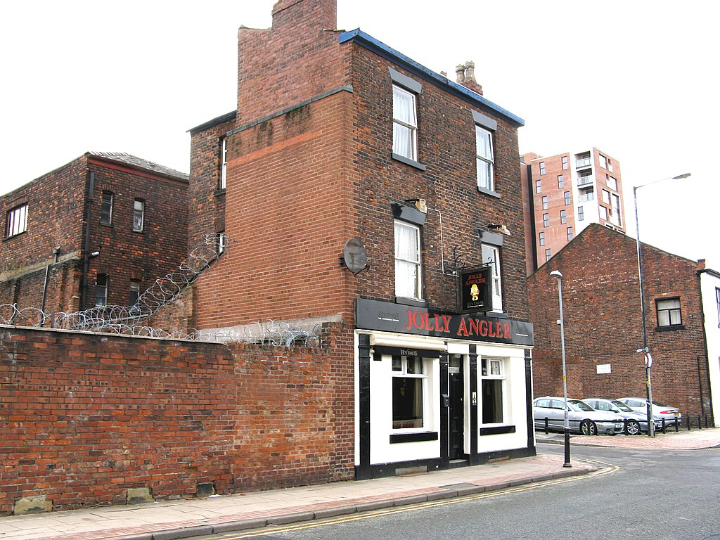 Manchester, The 'Jolly Angler', Ducie Street - geograph.org.uk - 1700035