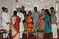 Manmohan Singh and the Chairperson, National Advisory Council, Smt. Sonia Gandhi distributed the Forest Land Pattas, Oil Engine and pvc pipes (As package) and 3 months food grains to BPL card holders, in Nandurbar.jpg