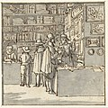 Mannen in een boekenwinkel, RP-T-1884-A-291.jpg