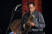 Mansur Scott Harlem Quartet feat Howard Johnson - INNtöne Jazzfestival 2013 25.jpg