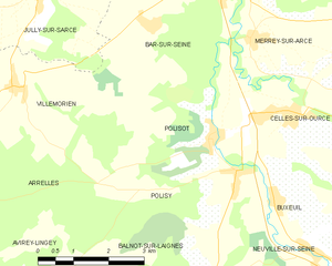 Map commune FR insee code 10295.png