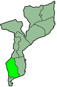 Map of the Diocese of Xai-Xai