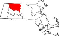 Map of Massachusetts highlighting Franklin County.svg