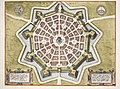 Map of Palmanova in 1593 by Joris Hoefnagel.jpg