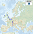 Map of the European Long Distance Path E2.png