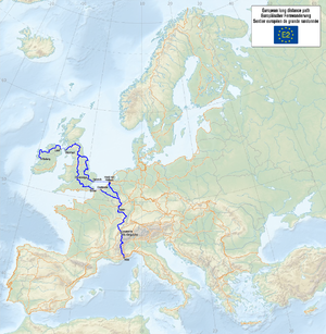 E2 European long distance path - The European walking route E2