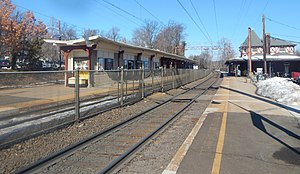 Maplewood station - Maplewood station in March 2015.