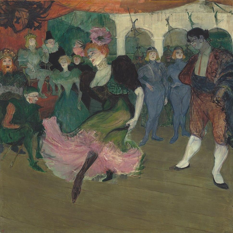 Marcelle Lender Dancing the Bolero in Chilpéric A24275