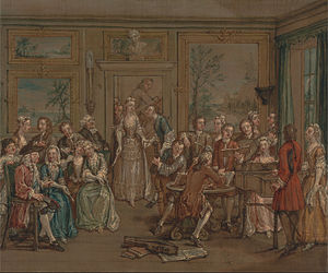 Marcellus Laroon the Younger - Musical Conversation, c. 1760, Yale