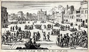 Slavery on the Barbary Coast - The Slave Market of Algiers in the early 17th Century.