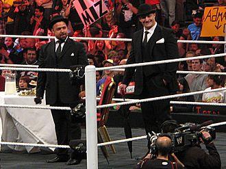 Santino Marella - Marella and Kozlov in November 2010 on Raw in Manchester, England