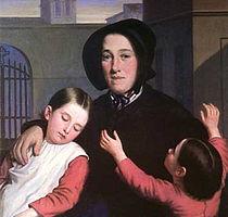 Margaret Haughery with Orphans J Amans Portrait.jpg