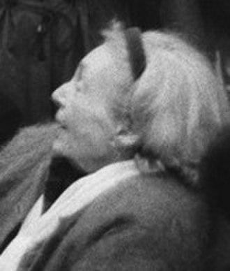 Marguerite Duras - Image: Marguerite Duras 1993