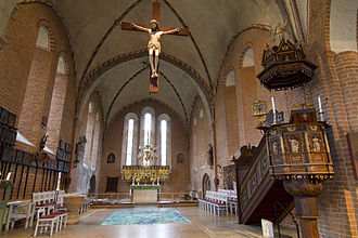 St. Mary's Church, Sigtuna - Image: Mariakyrkan Sigtuna Sweden