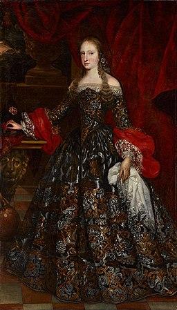 Mariana de Neoburgo reina de Espana