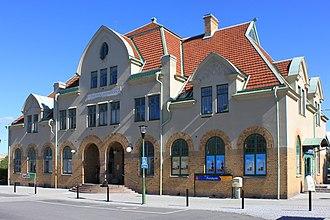 Mariestad Municipality - Mariestad Railway Station