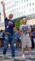Mark Levengood & Jonas Gardell på Stockholm pride 2012.jpg