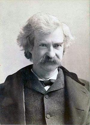 Photo Mark Twain via Opendata BNF