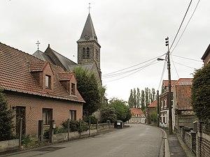 Marquain - Église Saint-Amand in Marquain