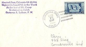 Marshall Pass - Image: Marshall Pass 1947