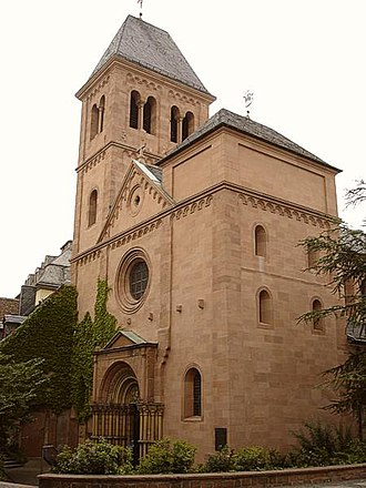 Worms, Germany - St Martin's Church.