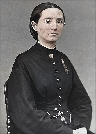 Mary Edwards Walker - Walker with her Medal of Honor
