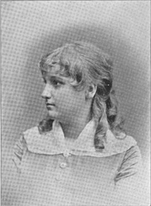 Mary Howe (singer) - Mary Howe, age 14