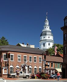 Annapolis Maryland Wikipedia - Marriland state