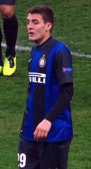 Mateo Kovačić - Kovačić with Inter in February 2013.