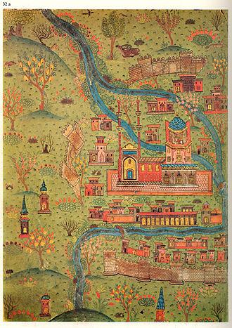 Matrakçı Nasuh - Image: Matrakçı Nasuh Soltaniyeh Map (2)