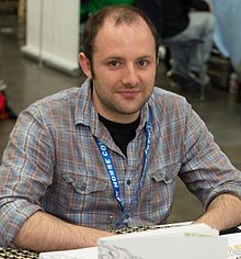 Matt Bors at Stumptown Comics Festival 2013.jpg