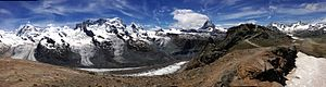 Matterhorn - Matterhorn Panorama from Gornergrat