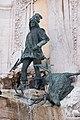 Matthias Fountain, 2012 Budapest. Hunter with stag (17158908796).jpg