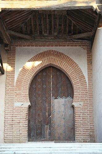 Marina of Aguas Santas - Image: Mayorga puerta Santa Marina JMM