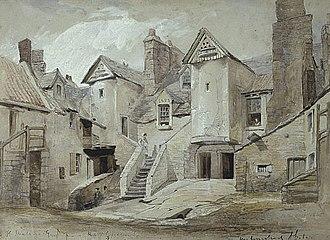 Horatio McCulloch - White Horse Close, Edinburgh, 1845, National Gallery of Scotland