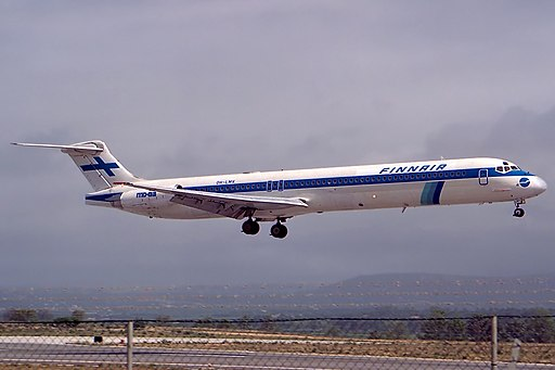 McDonnell Douglas MD-83, Finnair JP6213165