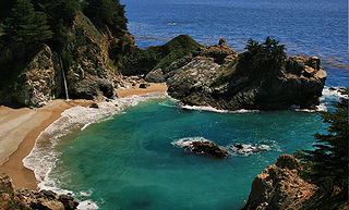 Cove A small sheltered bay or coastal inlet
