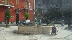 Piazza Medaglie d'oro a Capua.