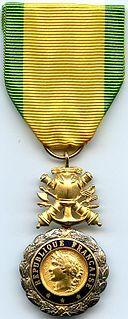 military decoration of the French Republic