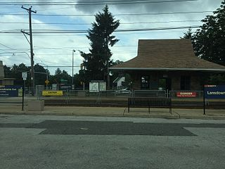 Lansdowne Avenue station (SEPTA Routes 101 and 102) SEPTA trolley station in Upper Darby, Pennsylvania, United States