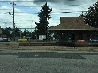 Lansdowne Avenue station (SEPTA Routes 101 and 102) - Lansdowne Avenue station