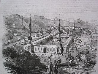 Al-Masjid an-Nabawi - Al-Masjid an-Nabawi during the Ottoman Era, 19th century
