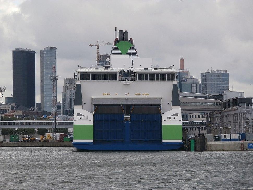 Megastar Stern Port of Tallinn 17 July 2017