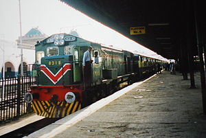 Mehar Exp. for Multan from Rawalpindi,2001,Raw...