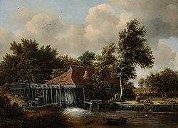 Meindert Hobbema: Een watermolen