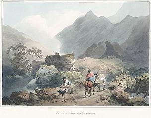Meleni.e. Melin Y Nant, Near Snowdon