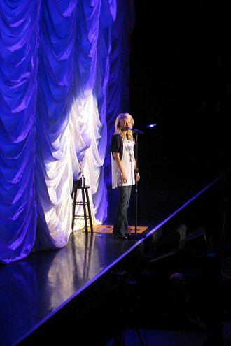 Melissa Peterman - Peterman performing in 2008