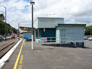 Melling railway station railway station