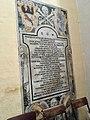Memorial plaque to Jacob Testaferrata de Robertis, Jesuits Church, Valletta.jpg