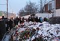Memorial to November 2015 Paris attacks at French embassy in Moscow 05.jpg